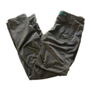 Hind Heathered Gray Workout Yoga Pants Medium